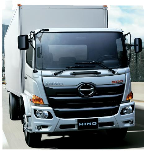 HINO refrigerated cargo truck