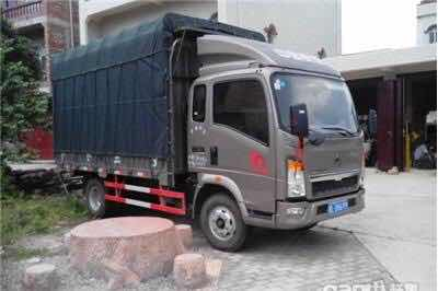 HOWO light cargo truck