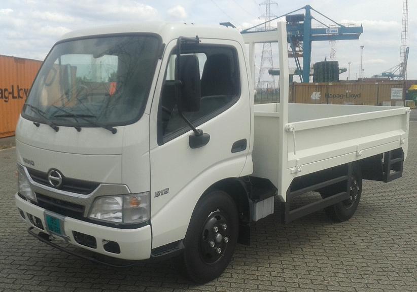 Hino cab truck