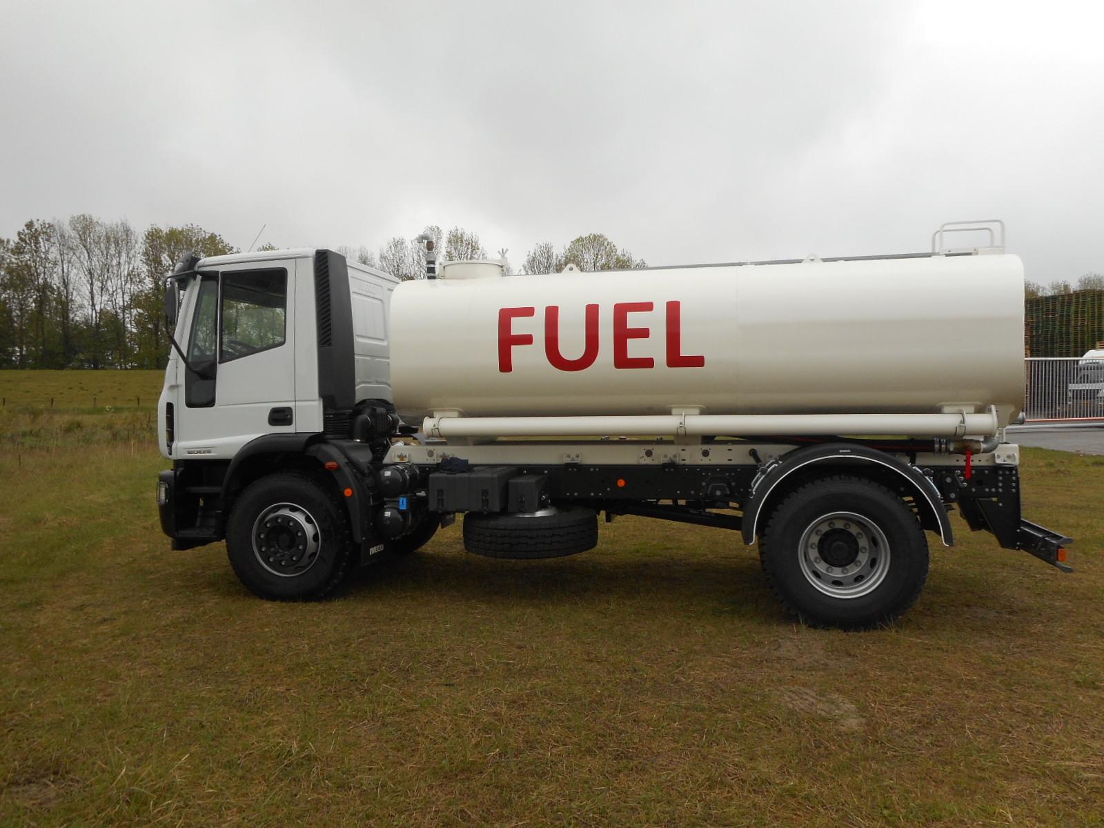 Iveco fuel tank truck