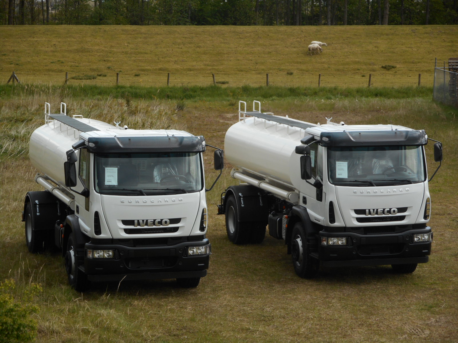 Iveco tank trucks
